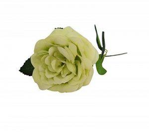 10 Pièces Rose de Fleurs Artificielles Bouquet pour Home Décoration/Mariage Decor vert de la marque Guiran image 0 produit