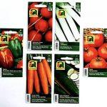12 variétés   Assortiment de graines de légumes   plus de 14000 graines   ensemble de départ complet   mélange robuste   Il suffit de tirer vos propres légumes à la maison avec nos semences de qualité de la marque image 1 produit