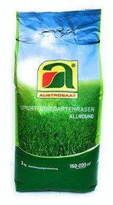 3 kg   Play and Garden Semences de pelouse   pour jusqu'à 200m2 de pelouse de rêve   pourcentage élevé Allsound blend   maintenant prix d'action d'hiver de la marque Austrosaat image 0 produit