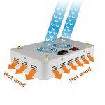 300W / 600W Double Chips LED élèvent la lumière plein Spectre élèvent l'usine de lampe élèvent des lumières avec la chaîne de cintre de corde Daisy pour les plantes hydroponiques de serre d'intérieur se développant ( puissance : 600W ) de la marque Lumièr image 2 produit