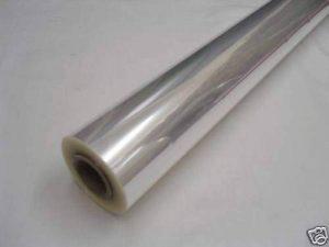 40 x 80 cm-rouleau de Papier Cellophane transparent (pré-roulés sur un tube). Pour emballer des bouquets de fleurs/cadeaux/Paniers de la marque Clear/Plain Cellophane image 0 produit