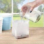 5 x 1 litre terre de coco sac de source cube comme potager pot à herbes pour herbes semailles culture potager passionné de cuisine de la marque Humusziegel image 3 produit