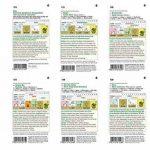 6 variétés | Assortiment de graines de légumes | Édition Gourmet | Set pour jus de carotte rhubarbe céleri vert asperge haricot pour la culture dans le lit de jardin et le balcon de la marque Austrosaat image 1 produit