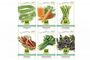 6 variétés | Assortiment de graines de légumes | Édition Gourmet | Set pour jus de carotte rhubarbe céleri vert asperge haricot pour la culture dans le lit de jardin et le balcon de la marque Austrosaat image 0 produit