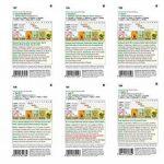 6 variétés | Assortiment de graines de légumes | Édition Gourmet | Set pour l'aubergine Italiano-Paprika Jalapeno-Chili Salade de bœuf-coeur-tomate-tomate Nasch-tomate | pour la culture dans le lit de jardin et le balcon de la marque Austrosaat image 1 produit