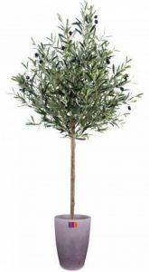Arbre artificiel, plante semi-naturelle Olivier new tête 95cm - taille : 95 cm de la marque ArtificielFlower image 0 produit