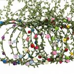 AWAYTR 9 Pièces Couronne de Fleur pour Femme Fille Enfant Mariage Fete Anniversaire de la marque AWAYTR image 1 produit