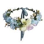 AWAYTR Bandeau cheveux de mariage floral Couronne Couronne de fleurs de la marque AWAYTR image 1 produit