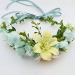 AWAYTR Bandeau cheveux de mariage floral Couronne Couronne de fleurs de la marque AWAYTR image 2 produit