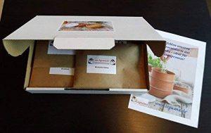 Bio graines germées en boîte cadeau, 10variétés–Parfait pour la cuisine ou présents de la marque Leguana Handels GmbH image 0 produit