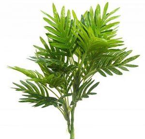 Bird Fiy - Plantes artificielles, feuilles de palmier pour décoration d'intérieur, jardin ou patio (lot de 2) de la marque Bird Fiy image 0 produit