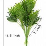 Bird Fiy - Plantes artificielles, feuilles de palmier pour décoration d'intérieur, jardin ou patio (lot de 2) de la marque Bird Fiy image 2 produit