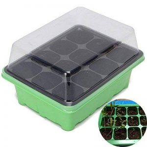 Bureze 12trous Graines de plantes Poussent Box Seeds Sprout Plateau outils de jardin de la marque Bureze image 0 produit