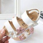 Chaussures de Bébé Sandales, ��LuckyGirls Été Enfants Fleur Sandales Mode Filles Chaussures Plat Princesse - Cuir Artificiel - 1~6 Ans de la marque LuckyGirls Chaussures de Bébé image 4 produit