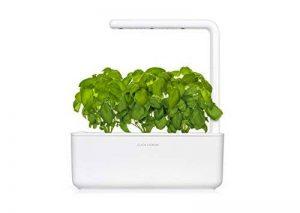 Click & Grow Smart Garden 3 jardinière d'intérieur 30 x 10 x 28 cm Blanc (contient 3 capsules de basilic) de la marque Click & Grow image 0 produit