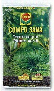 Compo Sana Terreau de qualité 'pour plantes vertes en lot de 10litres de la marque Compo image 0 produit
