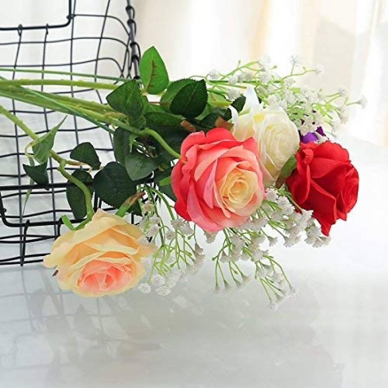 Sanremo fleurs s/éch/ées de la Riviera dei Fiori avec une rose pr/éserv/ée Orange Bouquet-Garden