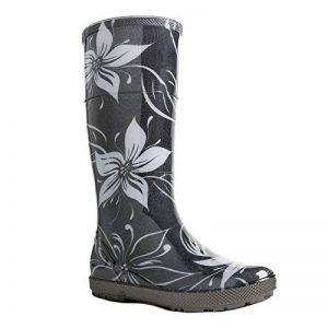 Demar Bottes en caoutchouc bottes de pluie Hawai Lady Exclusive - multicolore - fleurs, de la marque Demar image 0 produit