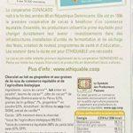 Ethiquable Chocolat Lait Gingembre Graines de Lin République Dominicaine Bio et Equitable en 100 g Paysans Producteurs - Lot de 5 de la marque ETHIQUABLE image 1 produit