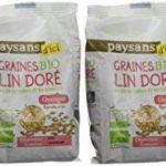 Ethiquable Graines de Lin Doré Bio 250 g Paysans d'Ici - Lot de 4 de la marque ETHIQUABLE image 3 produit