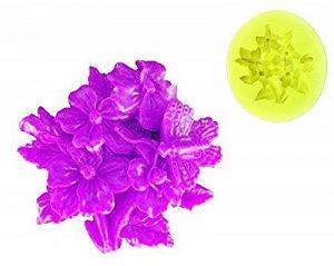 EVRYLON ➣ Moule en Silicone à Usage Artisanal avec la Forme D'un Bouquet de Fleurs et Un Papillon de la marque EVRYLON image 0 produit