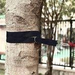 Extsud 2 Pcs 3m Sangle de Suspension Ultra Durable pour Balançoire Hamac Matériel de Suspension avec Crochets Mousquetons Sac Max Charge 300kg de la marque Extsud image 3 produit