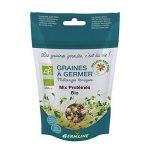 Germline - Kit de Germination - Germoir en verre + Graines à germer Bio Mix protéines ( pois chiche lentilles fénugrec ) de la marque Germline image 2 produit
