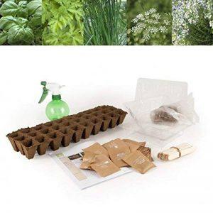 Graines bio d'aromatiques en coffret pour l'école de la marque Radis et Capucine image 0 produit