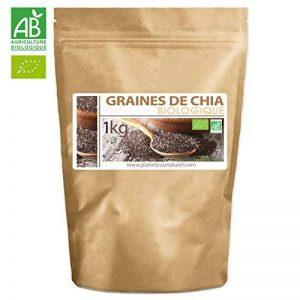 Graines de Chia Bio - 1kg (Salvia hispanica) de la marque Planète au Naturel image 0 produit