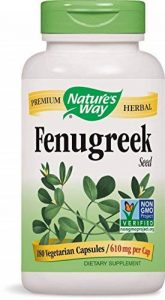 Graines de fenugrec Nature's Way, 610 mg, 180 capsules de la marque Natures Way image 0 produit