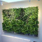 HUAESIN 2pcs plante verte artificielle bouquet d'Arbuste Feuilles Tropicale Faux Philodendron Monstera decoration maison intérieur extérieur - artplants palmier de la marque HUAESIN image 3 produit