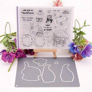 Huijun Kit de matrices de gaufrage de coupe en acier en métal pour l'album de bricolage d'album de scrapbooking de la marque Huijun image 0 produit