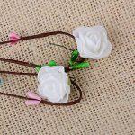 JNCH 144pcs 2,5cm Rose Artificielle en Mousse Tete Faux Fleur Artificielle Plante Decoration pour Maison Bouquet Mariage Fête de la marque JNCH image 3 produit