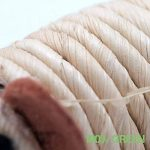 """Jouet pour Chat """"playfun Lot de 5ensemble fait de matériaux de naturel, SISAL Souris, herbe à chat, en bambou de la marque 4yourpet image 6 produit"""
