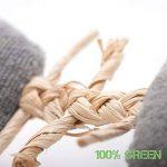 """Jouet pour Chat """"playfun Lot de 5ensemble fait de matériaux de naturel, SISAL Souris, herbe à chat, en bambou de la marque 4yourpet image 2 produit"""