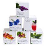 Kit de Jardin de Fines Herbes par Plant Theatre - 6 herbes aromatiques différentes à cultiver soi-même – Idée cadeau jardiniers de la marque Plant Theatre image 4 produit