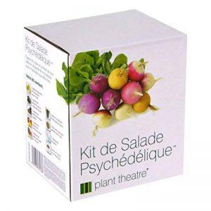 Kit de Salade Psychédélique par Plant Theatre – 5salades étonnantes à cultiver soi-même – Idée cadeau de la marque Plant Theatre image 0 produit