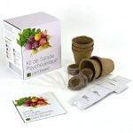 Kit de Salade Psychédélique par Plant Theatre – 5salades étonnantes à cultiver soi-même – Idée cadeau de la marque Plant Theatre image 2 produit