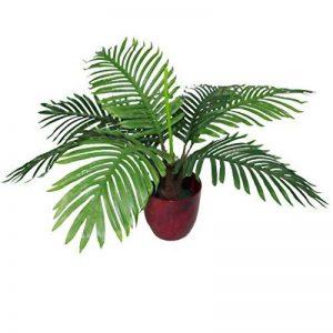 Leaf 50cm Artificielle Palmier Arbre Tropical - Bushy Forme En Plastique Noir Pot de la marque Leaf image 0 produit