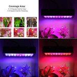 LED élèvent la lumière, lampe de croissance des plantes 300w, lumière de remplissage de plantes de culture hydroponique à effet de serre, plantes d'intérieur semis de fleurs et légumes remplissent la lumière avec lumière UV et infrarouge de la marque Lumi image 3 produit