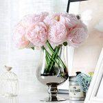 LianLe®Bouquet Fleur Artificiel Pivoine Fleur Déco Mariage Maison de la marque LianLe image 3 produit