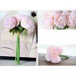 LianLe®Bouquet Fleur Artificiel Pivoine Fleur Déco Mariage Maison de la marque LianLe image 4 produit