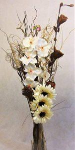Lien produits unique Crème maïs recyclé Fleurs Bouquet et iindian Graminées de la marque Link image 0 produit