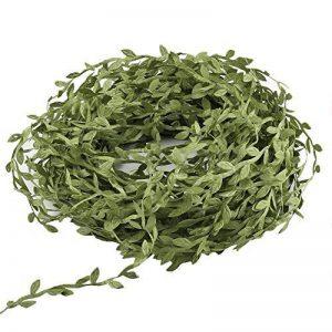 LULUNA 40 mètres plante artificielle,vert olive artificielle feuilles feuilles de lierre peuvent être utilisés pour la couronne de décoration de mur de jardin de mariage de la marque LULUNA image 0 produit