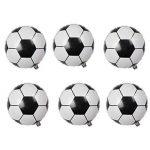 LUOEM Ballons de football Ballons en aluminium Mylar de ballon d'aluminium pour la décoration de fête d'anniversaire 2018 Coupe du monde Pack 10PCS 18 pouces de la marque LUOEM image 2 produit