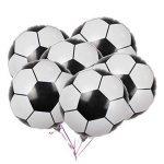 LUOEM Ballons de football Ballons en aluminium Mylar de ballon d'aluminium pour la décoration de fête d'anniversaire 2018 Coupe du monde Pack 10PCS 18 pouces de la marque LUOEM image 3 produit