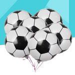 LUOEM Ballons de football Ballons en aluminium Mylar de ballon d'aluminium pour la décoration de fête d'anniversaire 2018 Coupe du monde Pack 10PCS 18 pouces de la marque LUOEM image 5 produit