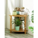 LXLA balcon de secteur de combinaison Fleur Pot Stand intérieur solide bois salon multicouche Landing Présentoir de plantes en pot Simple (taille : A) de la marque LXLA-support de fleurs image 1 produit