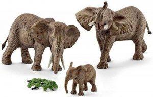 NOUVEAU - Pack Eléphants d'Afrique - Figurine des Animaux Schleich 42337 de la marque marque+generique image 0 produit