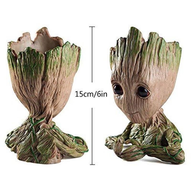 Pawaca Pot De Fleur Groot Figurine Ou Pot A Stylos Pot De Fleurs